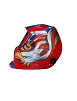 Adjustable Solar Auto-Darkening Welding Helmet Wholesale Stickers Spent Wearing A Mask Control