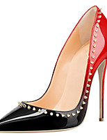 Women's Heels Fashion And Sexy pumps 12cm heels Party & Evening Stiletto Heel Rivet shoes