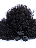 6A Indian Kinky Curly Virgin Hair 3pcs  Afro Kinky Curly Virgin Hair Curly Weave Bundles Human Hair Extensions
