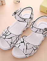 Girl's Sandals Summer Sandals / Open Toe  Casual Flat Heel Others Pink / White / Peach Others