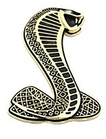 Cobra Sticker Metal Modification Metal Net Car Sticker