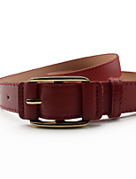 Fashion Belts Leather Material Waistband Metal Belt Buckle