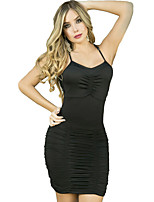 Women's Club Fashion Ruched Bodycon Dress