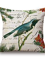 Algodón/Lino Cobertor de Cojín,Novedad / Con Texturas / Estampados Moderno/Contemporáneo / Casual / Detalle Decorativo