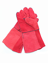 Double Insulated Leather Welding Gloves   Anti Stab And Anti Oil