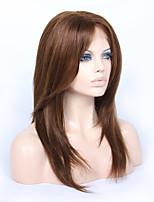 14-18inch braizlian девственница Remy человеческих волос слоистый Yaki прямо Glueless фронта шнурка для афро-американцев