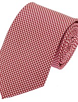 Adult Men Business Wedding Casual Neck Tie Polyester Silk