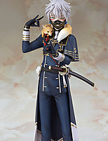Cosplay PVC 23.5cm Anime Action Figures Model Toys Doll Toy Touken Ranbu Online Nakigitsune