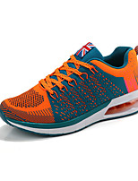 Men's Sneakers Spring / Fall Comfort Fabric Casual Flat Heel  Blue / Green / Orange Sneaker