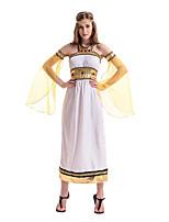 Costumes Plus de costumes Halloween / Fête d'Octobre Blanc Couleur Pleine Térylène Robe / Plus d'accessoires