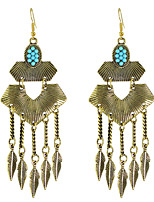 Earring Others Jewelry Women Fashion / Bohemia Style Party / Daily / Casual Alloy 1 pair Gold KAYSHINE