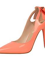 Feminino-Saltos-Conforto / Bico Fino / Bico Fechado-Salto Agulha-Preto / Rosa / Vermelho / Branco / Cinza / Transparente-Courino-Casual