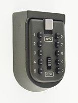 Wall-Mounted Key Storage Key Safe Box with 10-digit Combination Lock
