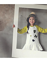 Girl's Holiday Print Overall & JumpsuitPolyester Winter / Fall White