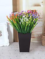 1 1 Филиал Пластик Pастений Букеты на стол Искусственные Цветы 30cm