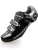 SIDEBIKE® Cycling Shoes Men's Road Bike Sneakers Ventilation / Impact / Wearproof / Breathable White / Green / Red / Others