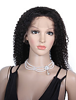 Glueless virgin brazilian human hair wigs kinky curly full lace wigs 20-24inch
