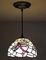 25W Подвесные лампы ,  Тиффани / Винтаж Живопись Особенность for Мини Металл Спальня / Прихожая