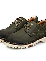Черный Коричневый Зеленый-Мужской-Повседневный-Ткань-На плоской подошве-Удобная обувь-Кеды