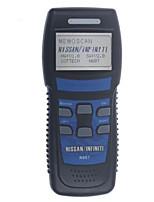 herramienta profesional N607 memoscan escáner OBD2 para Nissan