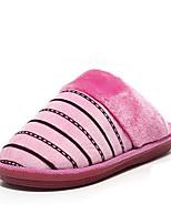 Синий / Розовый / Фиолетовый / Красный / Бежевый-Унисекс-На каждый день-Материал на заказ клиента-На плоской подошве-Стиль-Тапочки и
