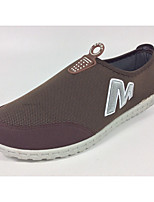 Men's Loafers & Slip-Ons Summer Comfort Tulle Casual Flat Heel Others Blue / Gray / Coffee Others