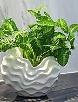 1 1 Филиал Полиэстер / Пластик Pастений Букеты на стол Искусственные Цветы 11.4inch/29cm