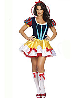Cosplay Costumes / Masquerade / Party Costume Princess / Fairytale / Santa Suits Festival/Holiday Halloween Costumes Yellow Patchwork