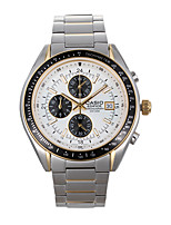 CASIO Three-eyes Watch with Quartz Movement EF Series Classic Sports Trend Men's Watch EF-503SG-1A