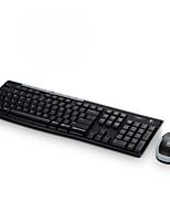 clavier sans fil photoélectrique costume MK260 / costume sans fil de bureau à domicile