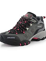 Women's Athletic Shoes Spring Summer Fall Suede Outdoor Flat Heel Others Black Brown Gray Hiking