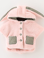 Girl's Casual/Daily Solid BlouseOthers Winter / Spring / Fall Pink / Red / White