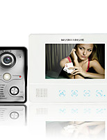 ENNIO7 Inch TFT Touch Screen Color Video Door Phone CMOS Night Version Camera Intercom system