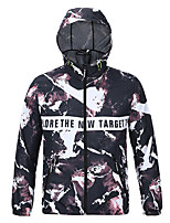 Hiking Softshell Jacket Men'sWaterproof / Breathable / Ultraviolet Resistant / Anti-Eradiation / Wearable / Antistatic /