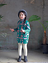 Girl's Casual/Daily Color Block Down & Cotton PaddedOthers Winter / Fall Green