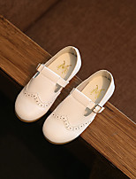 Girl's Loafers & Slip-Ons Spring / Summer / Fall Closed Toe Leatherette Outdoor Flat Heel Buckle
