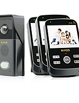 KiVOS KDB303 Wireless Visual Doorbell AC Waterproof Camera Intercom Doorbell