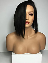 8A Brazilian Human Hair Short Bob Straight Virgin Hair WigFull Lace Human Hair Wigs For Women