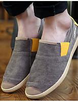 Heren Loafers & Slip-Ons Lente / Zomer / Herfst Dichte neus Canvas Buiten Platte hak Combinatie Geel / Groen / Rood Others