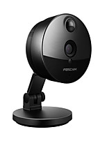 Foscam 720P Wireless Mini Indoor with 115 Viewing Angle Day Night PIR Motion Detection Dual Stream Plug and Play