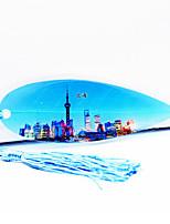 Shanghai Oriental Pearl Tv Tower In Shanghai Tourism Souvenir Vein Bookmark Send Colleagues And Friends