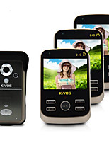 KiVOS  KDB301 Video Intercom Doorbell Home Wireless Induction Doorbell Remote Camera Lock Call