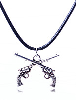 Latest Fashion Leather Cord Pendant Necklace