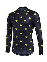 Sports® Cycling Jersey Men's Long Sleeve Breathable / Lightweight Materials / Back Pocket / Sweat-wicking / Comfortable Bike JerseyLYCRA®