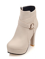 Women's Boots Spring / Fall / Winter Fashion Boots Leatherette Wedding / Outdoor /  Dress / Casual Stiletto Heel