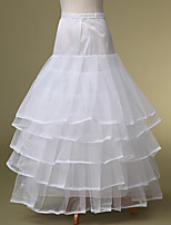 Slips Ball Gown Slip Floor-length 5 Polyester White
