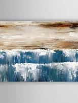 Ручная роспись Абстрактные пейзажи Картины маслом,Modern 1 панель Холст Hang-роспись маслом For Украшение дома