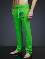 LOVEBANANA Men's Active Pants Green-34085