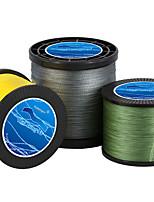 Anmuka Brand Fishing Line 100M/110Yards/300M/330Yards/500M/550 Yards PE Braided Line / Superline Green/White/Yellow Gray