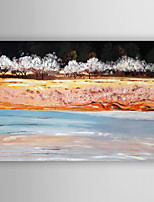 Oil Painting Abstract Landscape Hand Painted Canvas Painting with Stretched Framed Ready to Hang